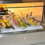 Fruit platter.......