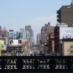 One of NYC's Avenues from the High Line
