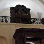 Interior de la iglesia San Ignacio de Loyola