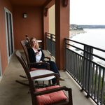 Balcony Mansfield Suite