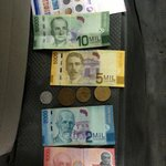 dinero. get change at the airport cambio unless you arrive on a weekday
