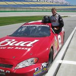 Racing with Rusty at Kentucky Speedway!