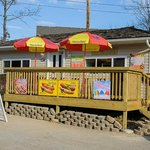 Enjoy a Shaved ICE at Woody's Island