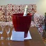 Complimentary Champagne for Honeymoon