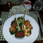 """Indonesian Campur"" food to expect at retreat...sooooo yummy"