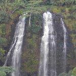 Closeup of Opaekaa Falls