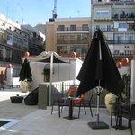 Terrace area