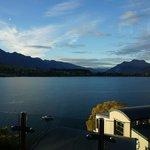 ベランダからの朝の眺め