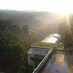 Pemandangan Pagi Hari dari Hotel
