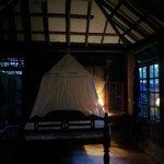 Inside Hut no. 12