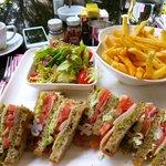 Lunch at Cafe Esplanada