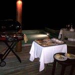 BBQ in-villa