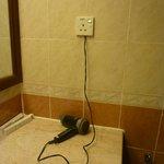 Unsafe hair dryer