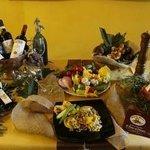 Una bella Chianina con vini pregiati della nostra enoteca