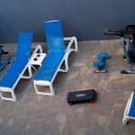 Sala de fitness =/