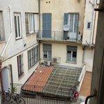 Vu de la fenêtre (sans les bruits des voisins)
