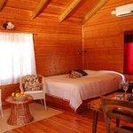 Cabin's interior