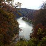 Die Donau aus der Sicht der Befreiungshalle!