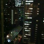 Gece otelden çevre görünümü