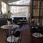 Terrasse zum Frühstück & relaxen