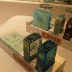 Le kit de soin et douche