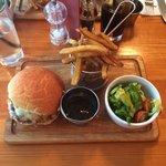 Delicious lamb burger 13/4/2014