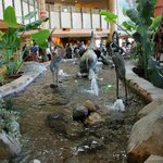 Main lobby fountain