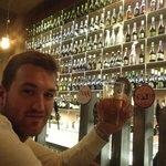 rafel at the bar
