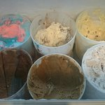 Lovely ice cream and a good celection of flavours
