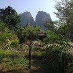 Prachtige locatie in het Khao Sok park