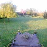 Jardin posterior