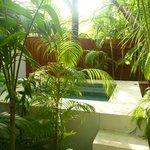 Jacuzzi garden room