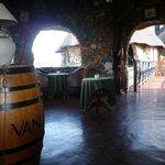 Die Bar von Innen.