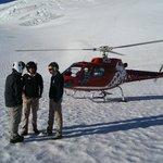 On the Glacier, so huge, so quiet..amazing...