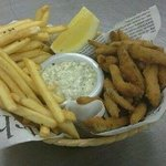 From our bar menu - Whitebait and fries with homemade tartare sauce
