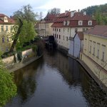 Lesser Town, as seen on Praha Bike rental tour