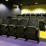 Cinema seating for 24 delegates