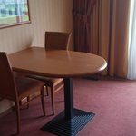 Convenient table with chairs
