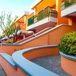 Los balcones de las habitaciones