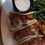 mahi fish tacos!