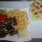 Bosnian speciality čevapćići