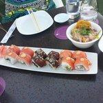 Sushi MARAVILHOSO e diferente