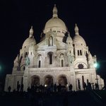 Sacre-Coeur bei Nacht