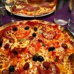 Pizza du Nota Bene Délicieuse!