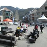 Keystone Village has shopping, bars and restaurants plus entertainment