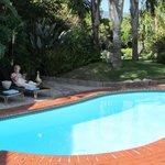 Pool and gardens (wife optional!)