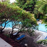 The pool: from my room