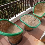 balcony seating..
