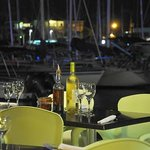 Terrasse restaurant le Cactus - Vue Marina
