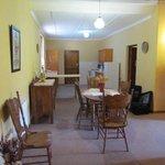 Coach House kitchen area